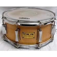 Pork Pie 6X14 PP6X14CST-CM Curly Maple Drum