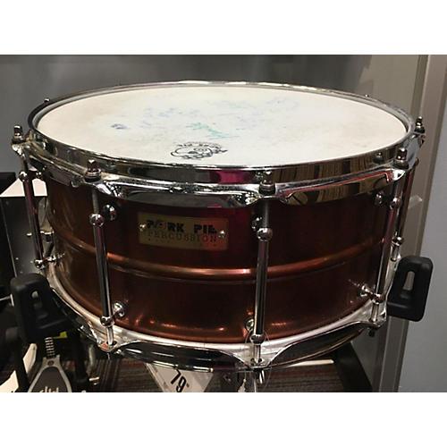 Pork Pie USA 6X14 Rub Brass Snare Drum