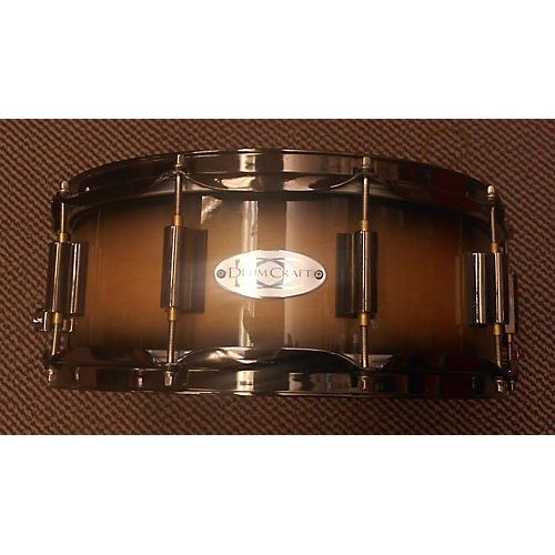 used drumcraft 6x14 series 8 birch drum natural to black burst 13 guitar center. Black Bedroom Furniture Sets. Home Design Ideas