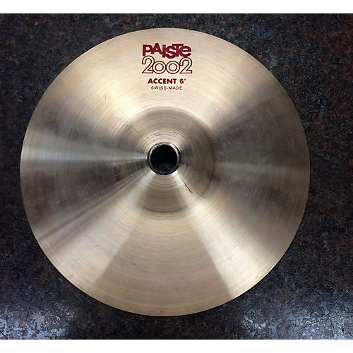 Paiste 6in 2002 Accent Cymbal
