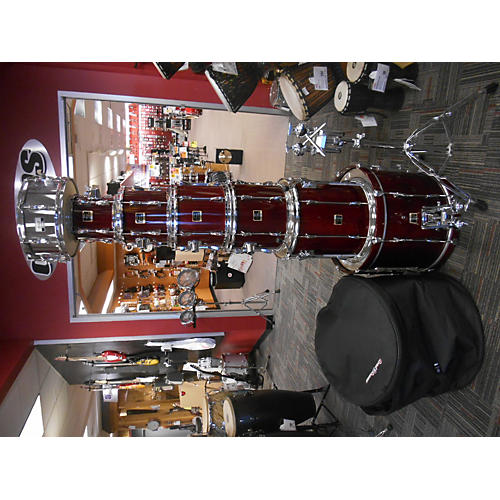 Yamaha 7 Piece Stage Custom Crandberry Red Drum Kit