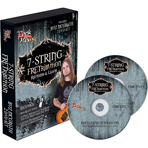 Hal Leonard 7-String Fretribution Rhythyms & Leads 2 DVD Set