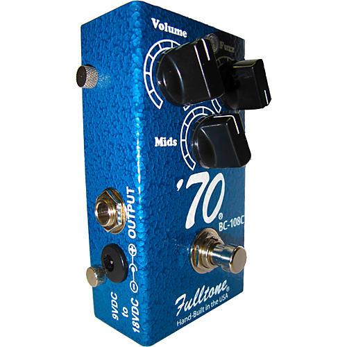Fulltone 70-BC Fuzz Guitar Effects Pedal