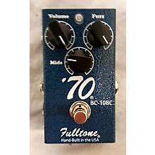 Fulltone '70 Silicon Powered Fuzz Effect Pedal