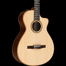 Taylor 700 Series 712ce-N Grand Concert Acoustic-Electric Nylon String Guitar Natural