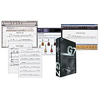 Sibelius G7 Guitar Tab Notation Software