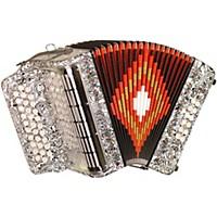 Sofiamari Sm-3112 31-Button 12 Bass Accordion Gcf Zebra