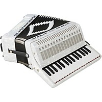 Sofiamari Sm-3232 32 Piano 32 Bass Accordion White Pearl