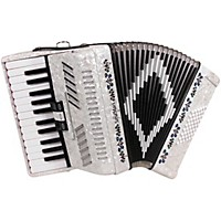 Sofiamari Sm-2648, 26 Piano 48 Bass Accordion White Pearl