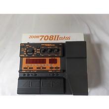 Zoom 708II Bass Multi Effects Processor
