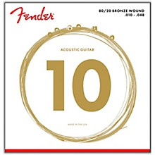 Fender 70XL 80/20 Bronze Acoustic Strings - Extra Light