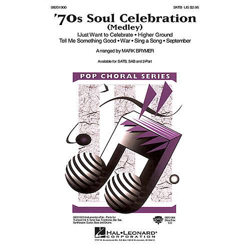 Hal Leonard 70s Soul Celebration (Medley) 2-Part Arranged by Mark Brymer