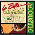 LaBella 710M Silk & Steel Medium Acoustic Guitar Strings thumbnail