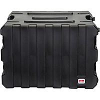 Gator G-Pro Roto Mold Rolling Rack Case Black 8 Space