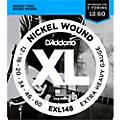 D'Addario XL148 Nickel-Wound, Drop C Tuning Electric Guitar Strings exl148
