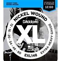 D'addario Xl148 Nickel-Wound, Drop C Tuning  ...