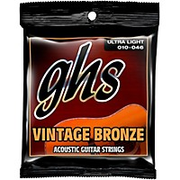 Ghs Vintage Bronze 85/15 Acoustic Strings  ...