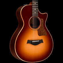 Taylor 712ce 12-Fret Grand Concert Acoustic-Electric Guitar Western Sunburst