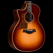 Taylor 714ce-LH V-Class Left-Handed Grand Auditorium Acoustic-Electric Guitar Western Sunburst