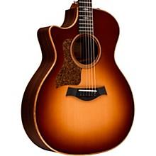 714ce-LH V-Class Left-Handed Grand Auditorium Acoustic-Electric Guitar Western Sunburst