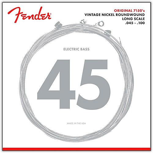 Fender 7150ML Pure Nickel Long Scale Bass Strings - Medium Light