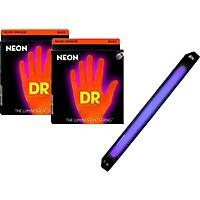 Dr Strings Neon Phosphorescent Orange Medium  ...
