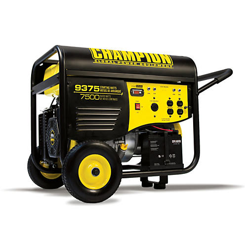 Champion Power Equipment 7500/9375 Watt Portable Generator