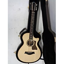 Taylor 752ce 12 String Acoustic Electric Guitar