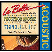 LaBella 7GPCL Phosphor Bronze Custom Light Acoustic Guitar Strings