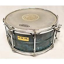 Pork Pie USA 7X13 BRASS PATINA SNARE Drum