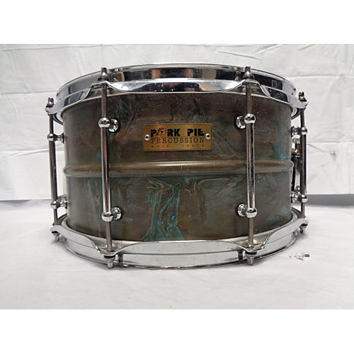 Pork Pie 7X13 PATINA BRASS Drum