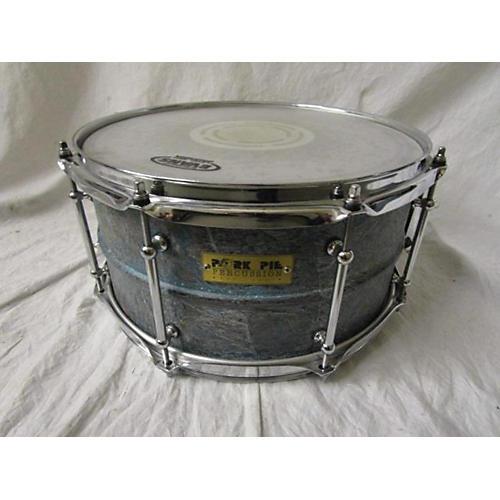 Pork Pie 7X13 PATINA BRASS SNARE Drum