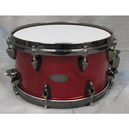 Orange County Drum & Percussion 7X13 VENICE RED SPARKEL Drum
