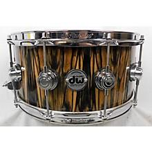 DW 7X14 COLLECTOR'S SERIES EXOTIC EBONY VLT Drum