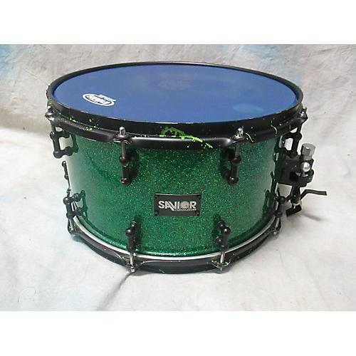 Savior Custom Drums 7X14 Green Machine Drum
