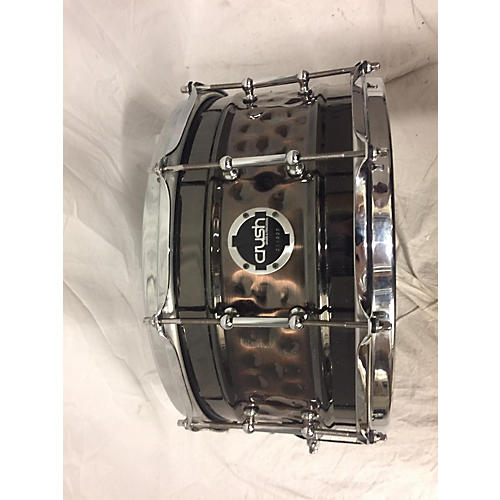 Crush Drums & Percussion 7X14 Hybrid Hand Hammered Steel Snare Drum