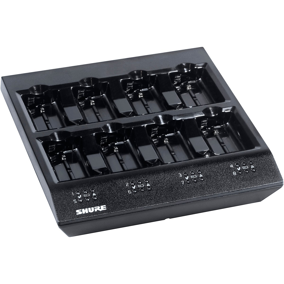 Shure 8 Bay Battery Charger