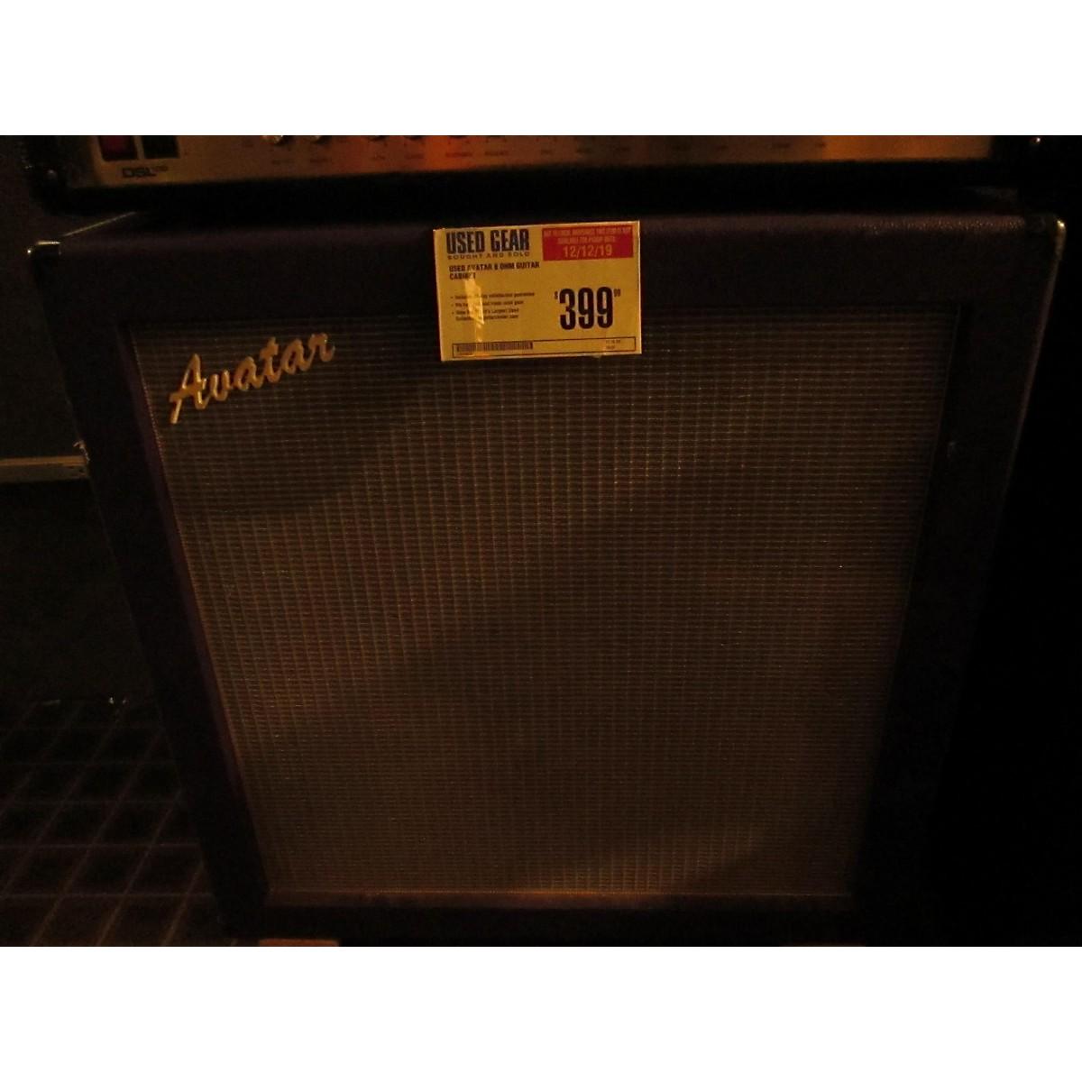 Avatar 8 Ohm Guitar Cabinet