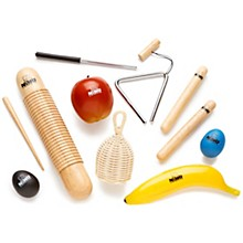 Nino 8-Piece Percussion Assortment with Bag