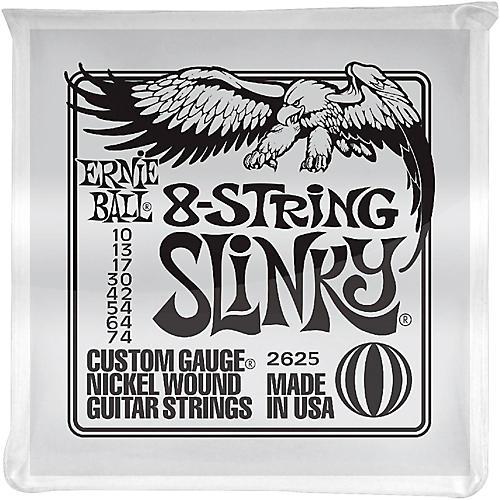 Ernie Ball 8-String Slinky Electric Guitar Strings 10-74