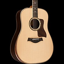 Taylor 800 Deluxe Series 810e DLX Dreadnought Acoustic-Electric Guitar Natural