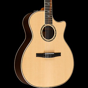 taylor 800 series 814ce n grand auditorium acoustic electric nylon string guitar natural. Black Bedroom Furniture Sets. Home Design Ideas