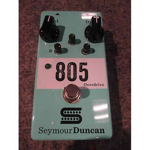 Seymour Duncan 805 Overdrive Effect Pedal
