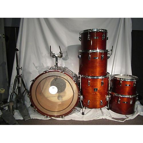 TAMA 80S TAMA SUPERSTAR WALNUT CONCERT SHELL KIT Drum Kit