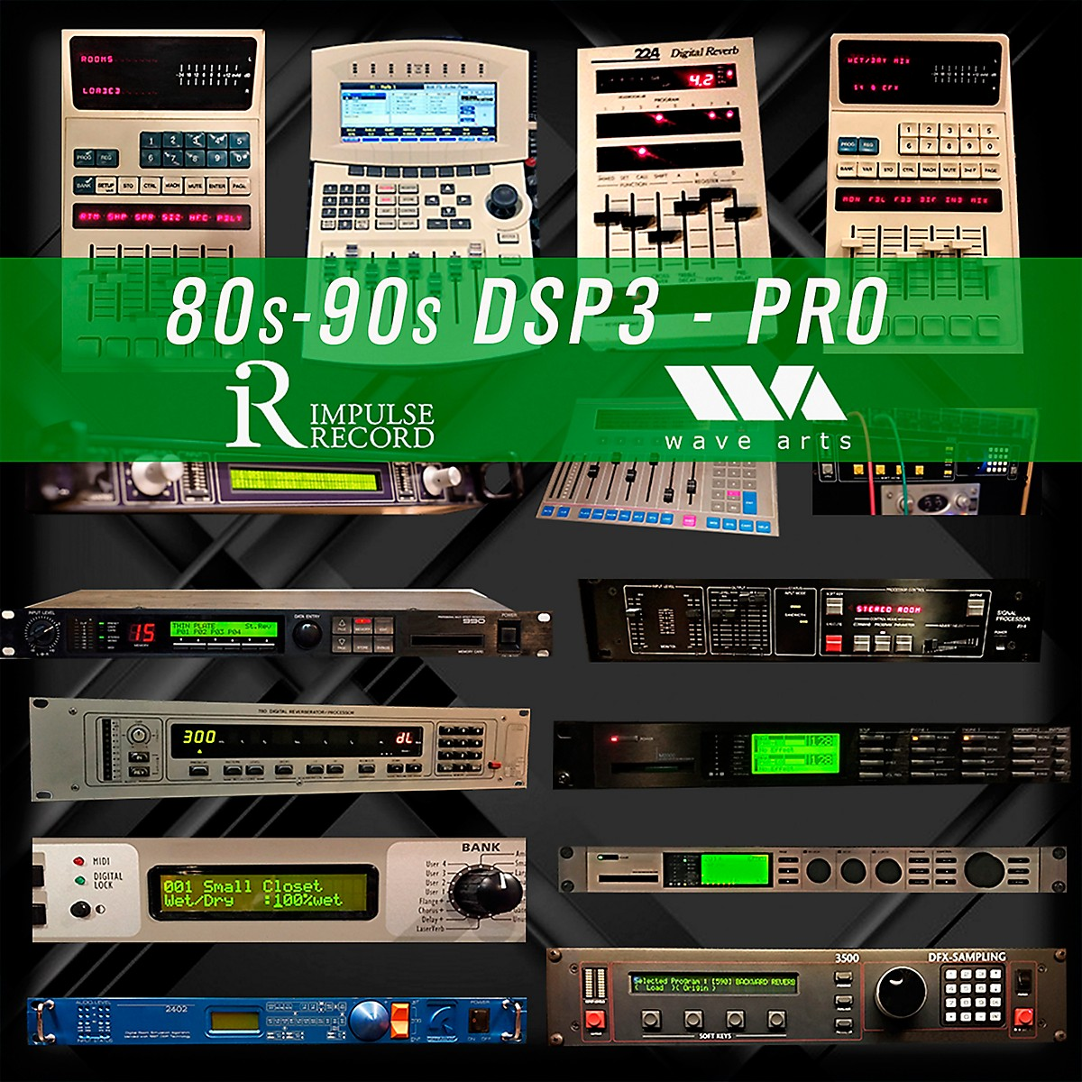 Impulse Record 80s & 90s DSP3 Gear