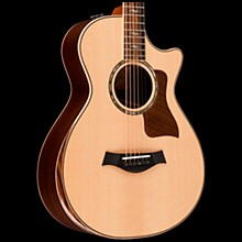 Taylor 812ce 12-Fret Deluxe Grand Concert Acoustic-Electric Guitar Natural