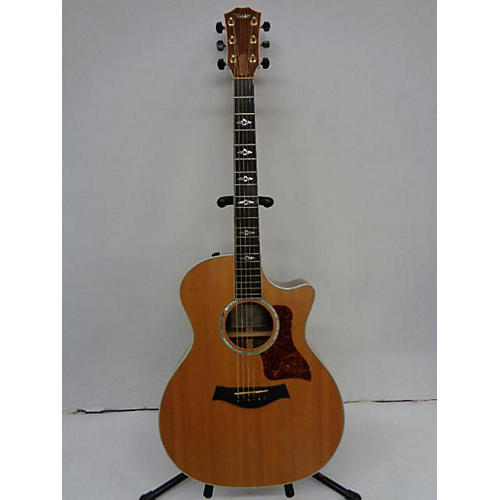 Taylor 814CE - CRACK ON TOP. Acoustic Electric Guitar
