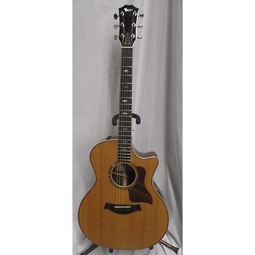 used taylor 814ce acoustic electric guitar natural guitar center. Black Bedroom Furniture Sets. Home Design Ideas