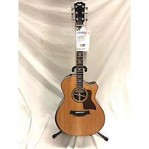 used taylor 814ce dlx acoustic electric guitar natural guitar center. Black Bedroom Furniture Sets. Home Design Ideas