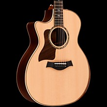 Taylor 814ce DLX V-Class Grand Auditorium Left-Handed Acoustic-Electric Guitar Natural